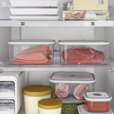 Aprenda a organizar a geladeira para ganhar espaço e economizar